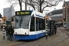 GVB 2046 [Amsterdam tram] by hpulling, via Flickr