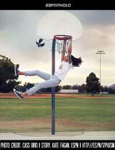 Locs & Basketball: It's record dunker and @WNBA player Brittney Griner shes my FAVORITE <3