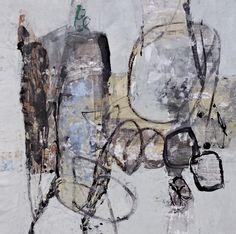Arturo Pacheco Lugo  Hacia los lindes1 serie Lindes sobre poliseda 70 x 70  cm 2015