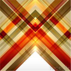Magic triangle box background vector
