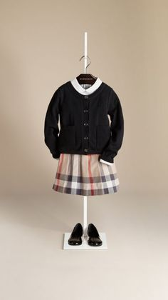 6d14074f6 Classic Cotton Cardigan Burberry Gifts, Burberry Outfit, Little Girl Shoes,  Little Girl Fashion
