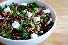 LOVELY BEET AND SILVERBEET SALAD
