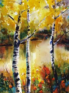 """Daily Paintworks - """"The Serenity of Change"""" by Melissa Gannon"""