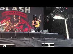 My Video - Gods Of Metal 2012 (June 23rd) - Slash:  Intro + One Last Thrill from the first row!