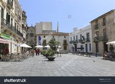 stock-photo-calella-spain-july-central-square-of-calella-on-july-city-on-the-costa-brava-266184530.jpg (1500×1100)