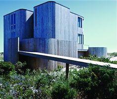 Calvin Klein's Fire Island Home, Sloan House - Horace Gifford, 1972