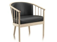 Wooden easy chair with armrests ORION by Stouby Furniture