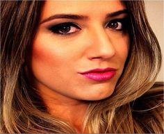 Maquiagem da bela @carolheinrichs, do blog Toque de Néon, feita pelo Beauty Team da NYX Manauara. Na pele, ela está usando todos os produtos da linha HD. Smokey Eyes feitos com a paleta Wicked Dreams e nos lábios o Round Lipstick Pandora