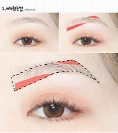Makeup Korean Eyebrows Straight Brows 55 Ideas For 2019 Korean Makeup Look, Asian Eye Makeup, Maquillaje Kylie Jenner, Korean Eyebrows, Straight Eyebrows, Eyebrow Styles, Eyebrow Makeup Tips, Eyebrow Wax, Tweezing Eyebrows