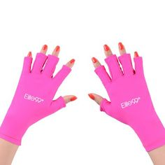 Just US$6.14, buy Elite99 Nail Art Utensil Anti-UV Hands Shield Protection Gloves online shopping at GearBest.com Mobile.