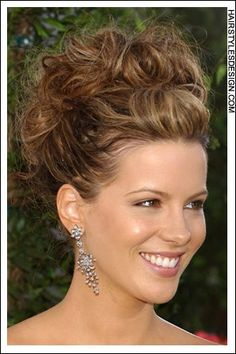 Hair Style: This stylish updo has so much volume. The hair is long and has all been gathered together into this incredible style. Hair Cut: This haircut is very long. Suitable Face shapes: oval, square, heart, diamond  Hair texture: medium, thick. perfect for Shelli