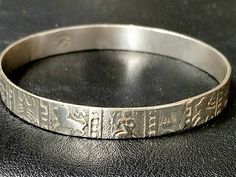 Excited to share the latest addition to my #etsy shop: Vintage Taxco bangle bracelet zodiac figures silver tone Mexico horoscope jewelry birthday gift http://etsy.me/2CYu8Vk #jewelry #bracelet #silver #birthday #christmas #zodiac #no #unisexadults #boho