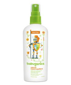 Look at this #zulilyfind! Natural Insect Repellent - Set of Three by Babyganics #zulilyfinds