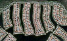 Patterns of Human Development Found on Google Maps