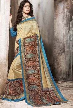Multicolor Saree - Desi Royale