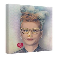 I Love Lucy Lucy S Blend Canvas Wall Art I Love Lucy Lucy S Blend