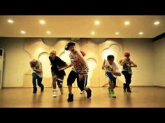 BEAST / B2ST - Beautiful night (Dance practice) - YouTube