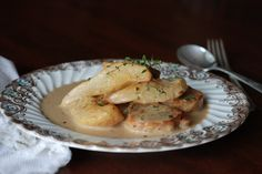Simply So Good: Vanilla Cider Pork with Pears