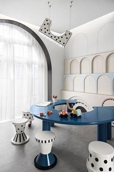 Kids Play Centre, Indoor Playroom, Playroom Flooring, Bunk Beds Built In, Kids Cafe, Kindergarten Design, Hangout Room, Kids Room Paint, Kids Bedroom Designs