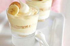 десерт с ванильным кремом