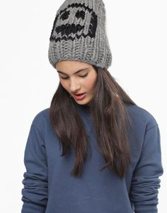 Smiley Beanie by Wool and the Gang #blackfridaygang