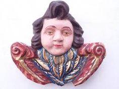 esculturas do Divino Espirito Santo em papel machê - Pesquisa Google