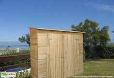 Votre armoire de jardin bois Muralis de 19 mm d'épaisseur convient à tout type de rangement d'extérieur. La porte mesure 128 x 170 cm (l,h). Le traitement autoclave FSC permettre de conserver tout l'éclat de votre coffre de rangement. Votre armoire ... (suite)