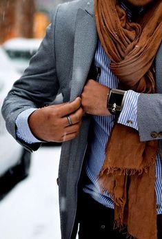 Écharpe cadeau pour homme