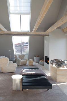 Loft Design, House Design, Design Hotel, Interior Architecture, Interior And Exterior, Room Interior, Design Apartment, Loft Studio, Decoration Design
