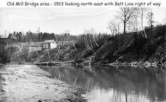south of Old Mill Bridge Toronto, Bridge, Belt, River, History, Outdoor, Belts, Outdoors, Historia