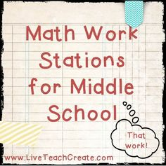 MathWorkStationsForMiddleSchool