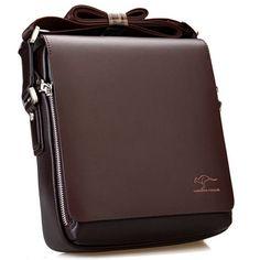 New Arrived luxury Brand men's messenger bag Vintage leather shoulder bag Handsome crossbody bag handbags. Handbags For Men, Leather Handbags, Leather Bags, Leather Purses, Cuir Vintage, Vintage Leather, Men's Vintage, Vintage Bags, Vintage Style