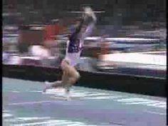 Kerri Strug final gold medal vault, 1996