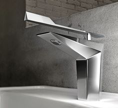 Marvelous Fly Faucet   The Fly Faucet Boasts A Geometric Design Full Of Prisms And  Angles That Would Modernize Any Bathroom Instantly.