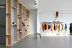 Showroom 8 is a minimalist interior located in Toulouse, France, designed by A+B. Showroom 8 is a place for the pre- sentation of new clothi...