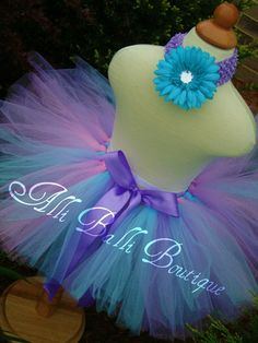 PASTEL BIRTHDAY/ EASTER Tutunewborn tutusize by alliballiboutique, $23.95