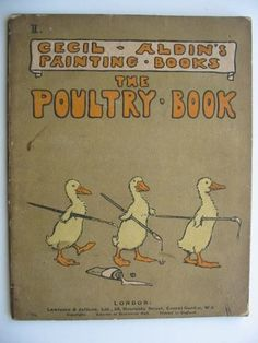 THE POULTRY BOOK. Illus. by Aldin, Cecil | eBay Poultry, Baby Room, Babies, Baseball Cards, Comics, Books, Ebay, Backyard Chickens, Babys