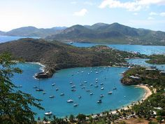 The view from Shirley Heights, Antigua