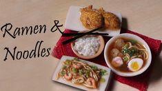 Miniature Ramen & Noodles - Polymer Clay Tutorial