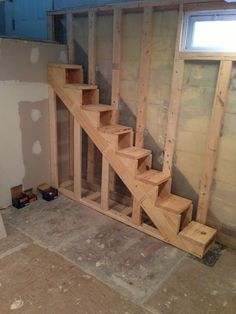 Floating Stairs Leveling Boards ensure a perfectly level surface for treads to be attached to