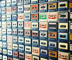 caset tape wall