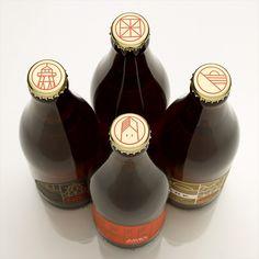 Packaging / Fort Point Beer Bottles