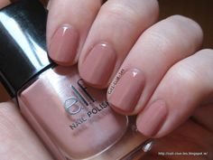 Elf Nude nail polish swatch