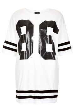 Number 86 Tee - T-Shirts - Jersey Tops - Clothing - Topshop Europe