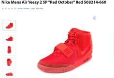 Walmart Has The Nike Air Yeezy 2 Red October For Sale