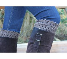 Pick Your Color boot cuffs crochet leg warmers boot socks boho fashion boot accessories