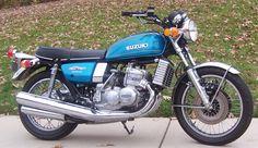 "Suzuki GT750 ""Water Buffalo"" 2 Stroke Triple cylinder liquid cooled. FUN bike"