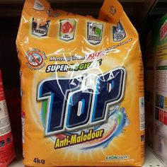 Top Super Hygienic Anti-Malodour Laundry Detergent 4kg