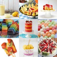 13 maneras locas de servir fruta este verano #fruits #frutas