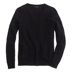 Our classic cable crewneck sweater is back, and just in time for the chillier months ahead (there's a reason it never goes out of style).<ul><li>Relaxed fit.</li><li>Hits at hip.</li><li>Wool/nylon/viscose in a 7-gauge knit.</li><li>Rib trim at neck, cuffs and hem.</li><li>Dry clean.</li><li>Import.</li><li>Online only.</li></ul>